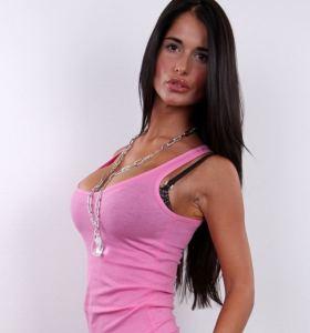 Czech Casting Nikola aka Nessa Devil in jeans gets nude