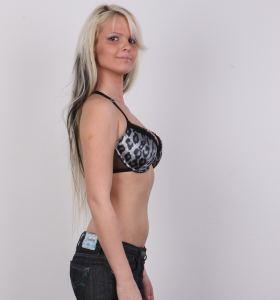 Czech Casting Zdenka 2255 in jeans gets nude