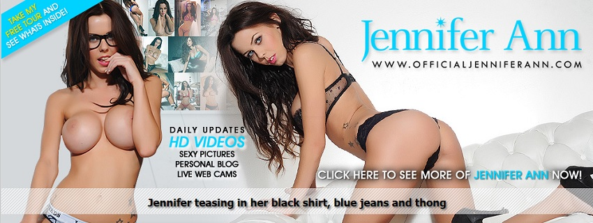 image Horny brunette in black lingerie plays with pussy